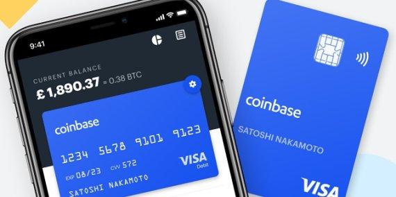 コインベース、英国で仮想通貨デビットカード披露…BTC、XRP、ETHなど